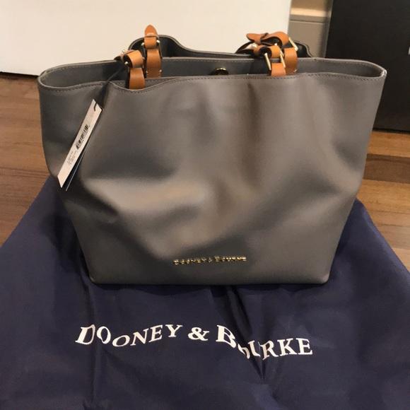 b72b8cfdb Dooney & Bourke Bags | Nwt Dooney Bourke City Flynn Bag In Taupe ...